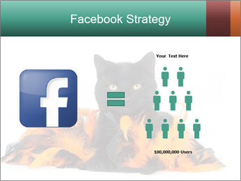 Black cat PowerPoint Template - Slide 7