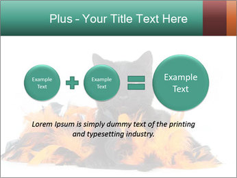 Black cat PowerPoint Template - Slide 75