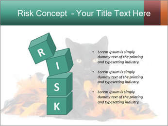 Black cat PowerPoint Template - Slide 81