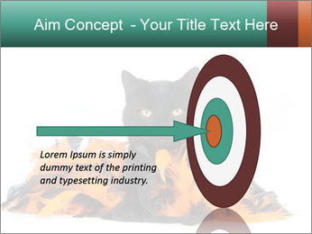 Black cat PowerPoint Template - Slide 83