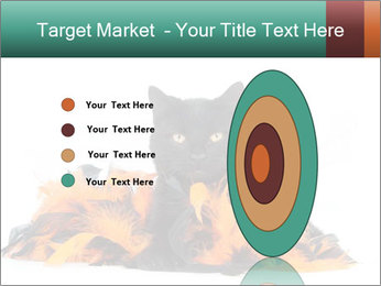 Black cat PowerPoint Template - Slide 84