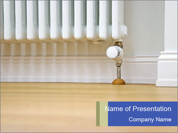 Modern radiator PowerPoint Template