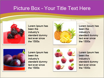 Gold apple PowerPoint Template - Slide 14