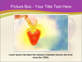 Gold apple PowerPoint Template - Slide 15