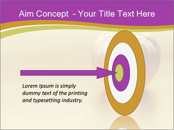 Gold apple PowerPoint Template - Slide 83