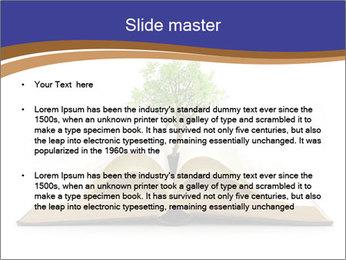 Tree growing PowerPoint Template - Slide 2