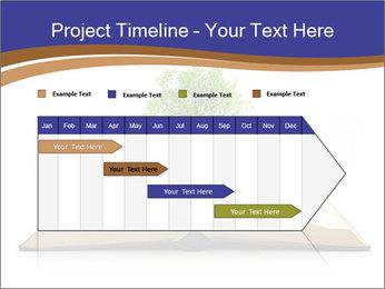 Tree growing PowerPoint Template - Slide 25