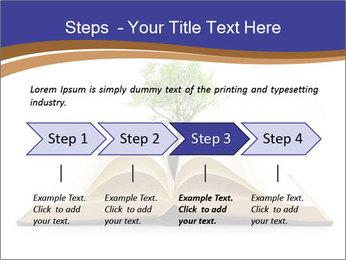 Tree growing PowerPoint Template - Slide 4