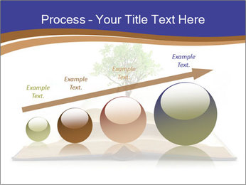 Tree growing PowerPoint Template - Slide 87