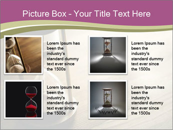 Hourglass PowerPoint Template - Slide 14