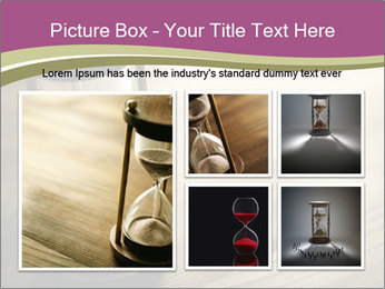 Hourglass PowerPoint Template - Slide 19