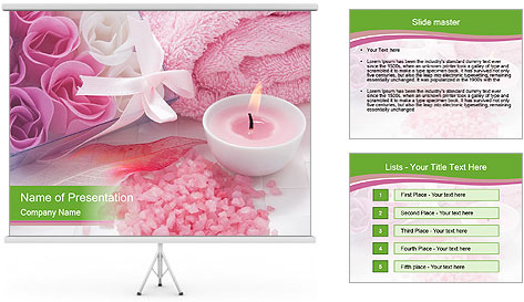 Aroma candle PowerPoint Template