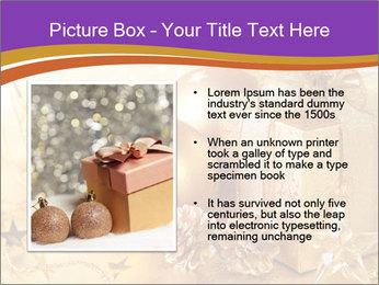Christmas gift box PowerPoint Template - Slide 13
