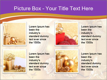 Christmas gift box PowerPoint Template - Slide 14