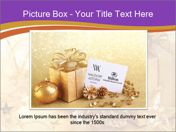 Christmas gift box PowerPoint Template - Slide 15