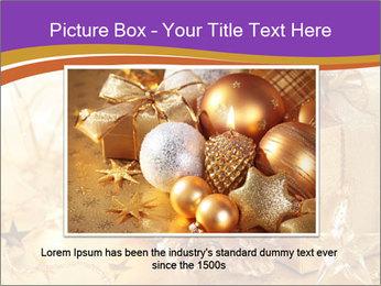 Christmas gift box PowerPoint Template - Slide 16