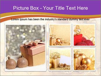 Christmas gift box PowerPoint Template - Slide 19