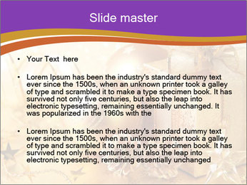 Christmas gift box PowerPoint Template - Slide 2