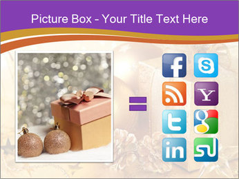 Christmas gift box PowerPoint Template - Slide 21