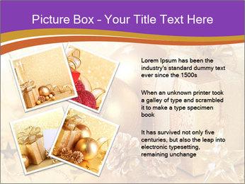 Christmas gift box PowerPoint Template - Slide 23