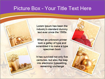 Christmas gift box PowerPoint Template - Slide 24