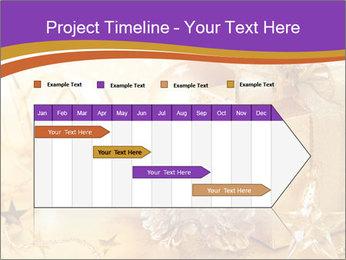 Christmas gift box PowerPoint Template - Slide 25