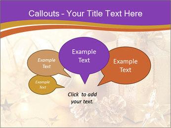 Christmas gift box PowerPoint Template - Slide 73