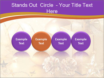 Christmas gift box PowerPoint Template - Slide 76