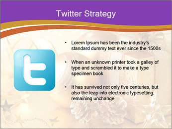 Christmas gift box PowerPoint Template - Slide 9