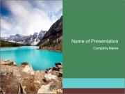 Moraine Lake PowerPoint Template
