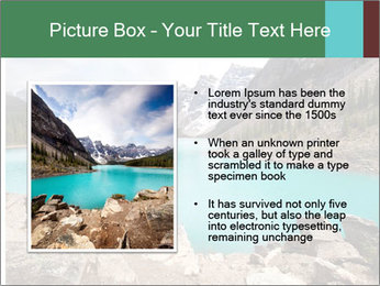 Moraine Lake PowerPoint Templates - Slide 13