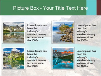 Moraine Lake PowerPoint Templates - Slide 14