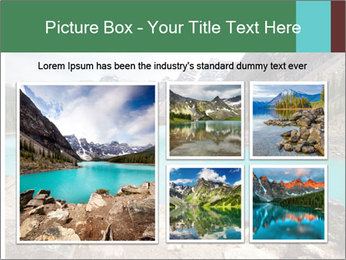 Moraine Lake PowerPoint Templates - Slide 19