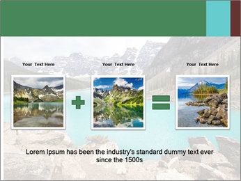 Moraine Lake PowerPoint Templates - Slide 22