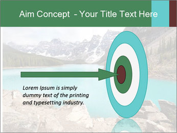 Moraine Lake PowerPoint Templates - Slide 83