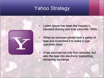 Natural amethyst PowerPoint Template - Slide 11