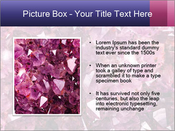 Natural amethyst PowerPoint Template - Slide 13