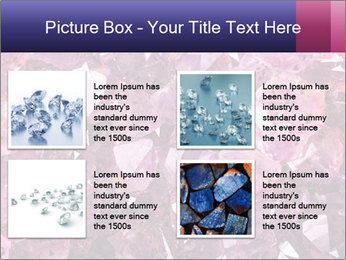 Natural amethyst PowerPoint Template - Slide 14