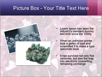Natural amethyst PowerPoint Template - Slide 20