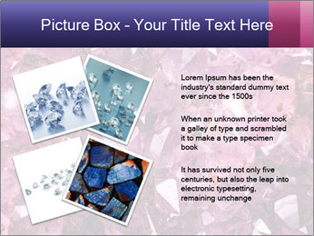Natural amethyst PowerPoint Template - Slide 23