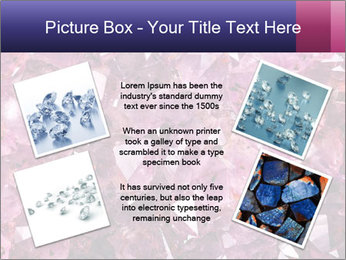 Natural amethyst PowerPoint Template - Slide 24