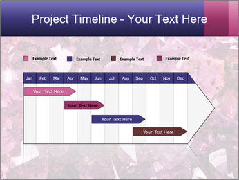 Natural amethyst PowerPoint Template - Slide 25