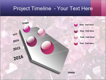 Natural amethyst PowerPoint Template - Slide 26