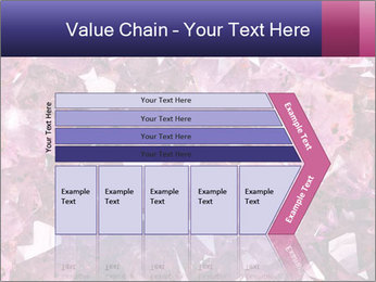 Natural amethyst PowerPoint Template - Slide 27