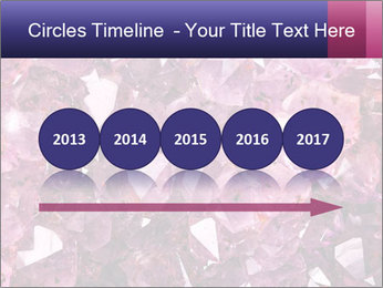 Natural amethyst PowerPoint Template - Slide 29