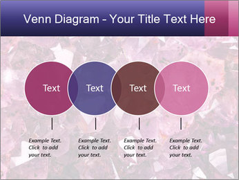 Natural amethyst PowerPoint Template - Slide 32