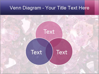 Natural amethyst PowerPoint Template - Slide 33