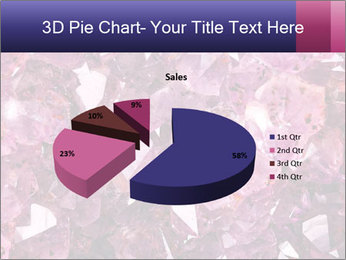 Natural amethyst PowerPoint Template - Slide 35