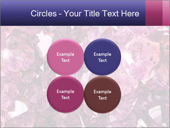 Natural amethyst PowerPoint Template - Slide 38