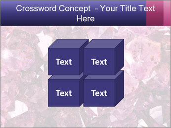 Natural amethyst PowerPoint Template - Slide 39